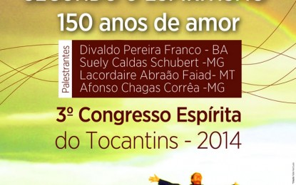 3º Congresso Espírita do Estado do Tocantins