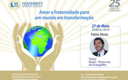 "Palestra ""Paulo – porta-voz do Evangelho"", London-UK"