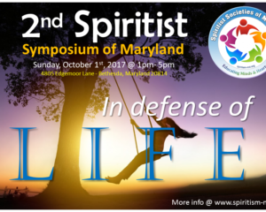 2nd Spiritist Symposium of Maryland, US