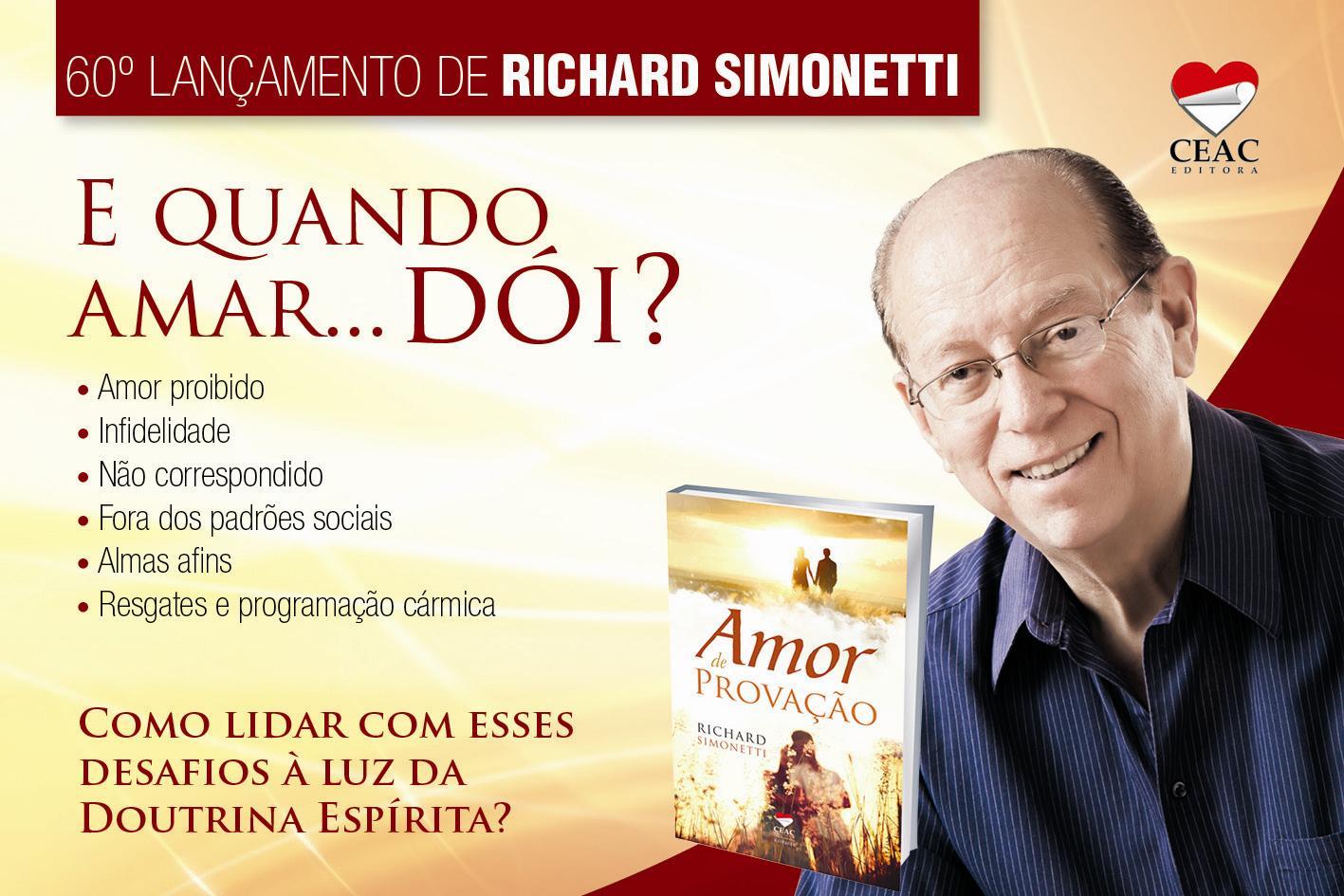 Agenda Espírita Brasil - 60 Livro de Richard Simonetti_original